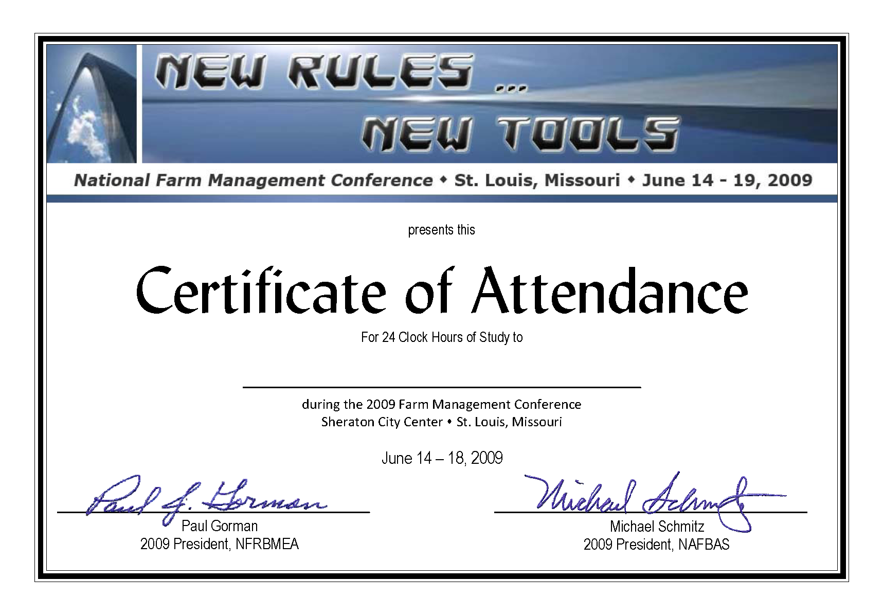Certificate of attendance new calendar template site for Certificate of attendance seminar template